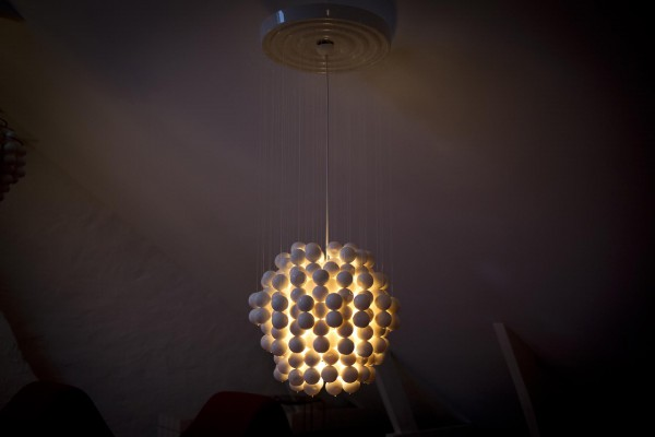 1970 Ball lamp Typ F
